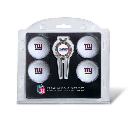 31906: 4 Golf Ball And Divot Tool Set New York Giants