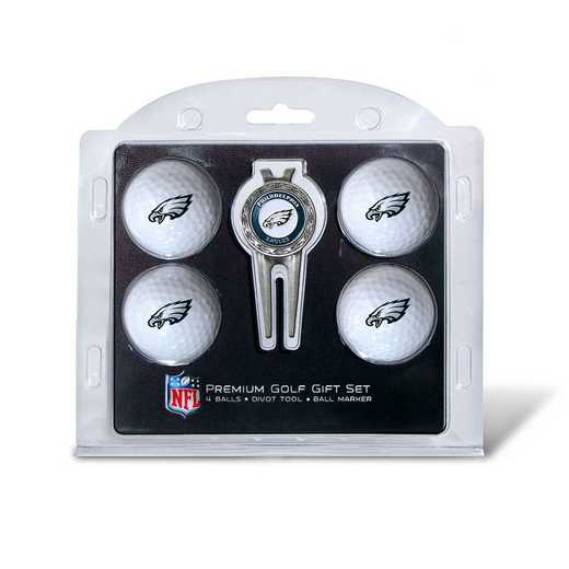 32206: 4 Golf Ball And Divot Tool Set Philadelphia Eagles