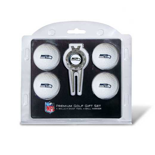 32806: 4 Golf Ball And Divot Tool Set Seattle Seahawks