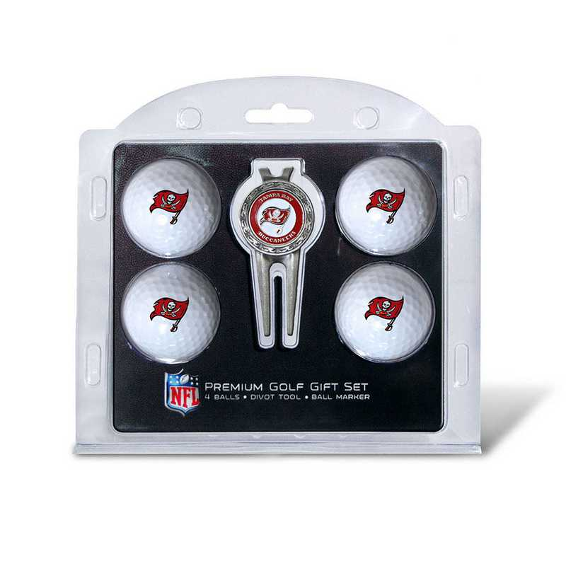 32906: 4 Golf Ball And Divot Tool Set Tampa Bay Buccaneers