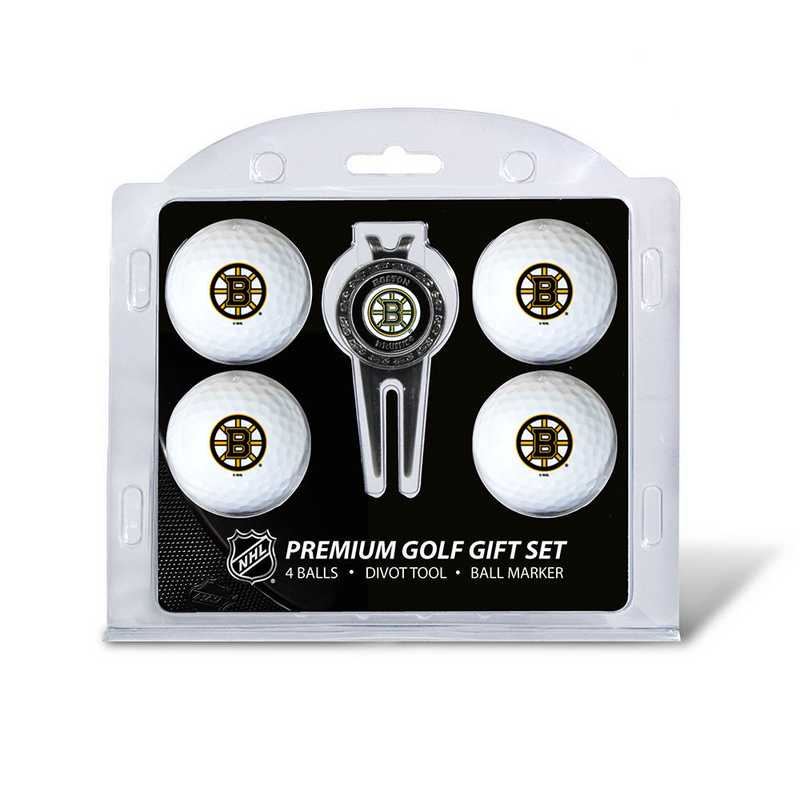 13106: 4 Golf Ball And Divot Tool Set Boston Bruins