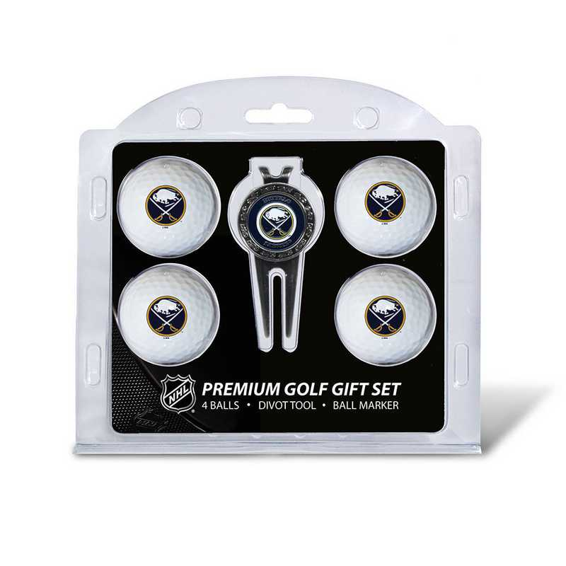 13206: 4 Golf Ball And Divot Tool Set Buffalo Sabres