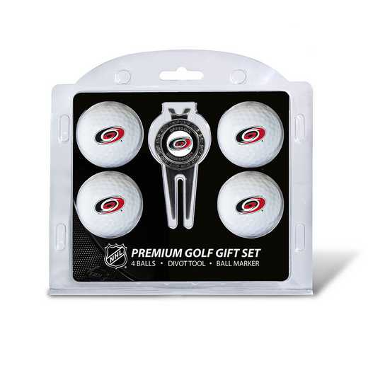 13406: 4 Golf Ball And Divot Tool Set Carolina Hurricanes