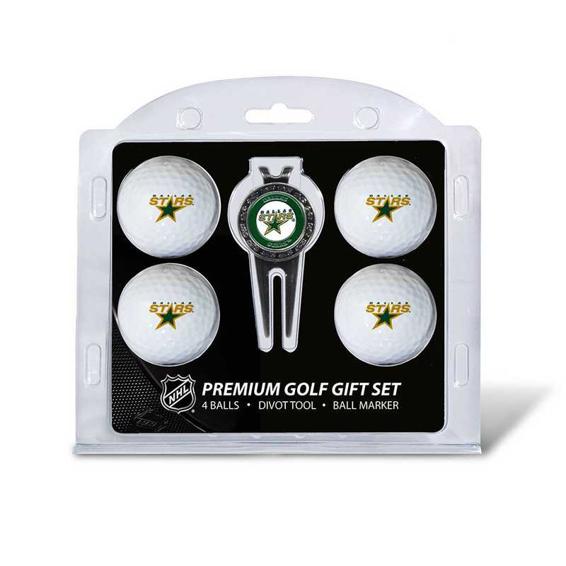 13806: 4 Golf Ball And Divot Tool Set Dallas Stars