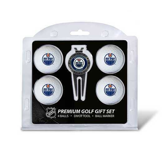 14006: 4 Golf Ball And Divot Tool Set Edmonton Oilers