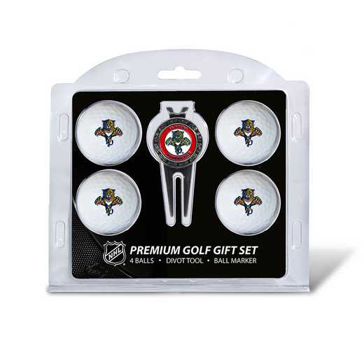 14106: 4 Golf Ball And Divot Tool Set Florida Panthers