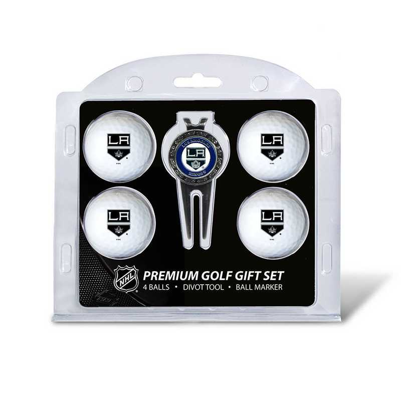 14206: 4 Golf Ball And Divot Tool Set Los Angeles Kings