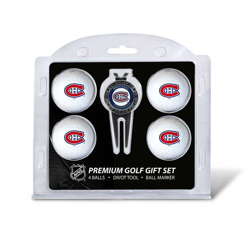 14406: 4 Golf Ball And Divot Tool Set Montreal Canadiens