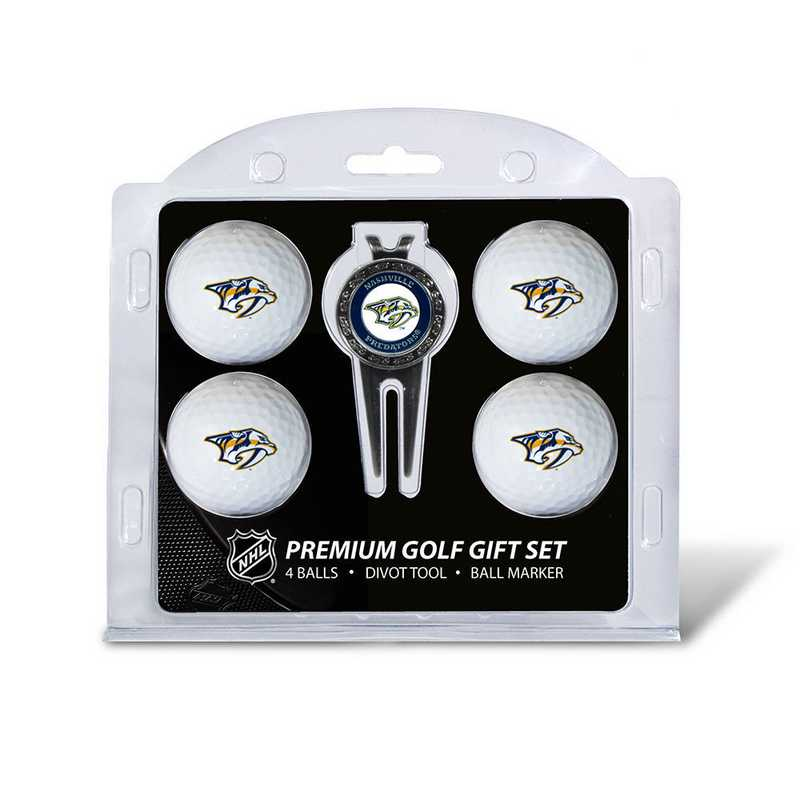 14506: 4 Golf Ball And Divot Tool Set Nashville Predators