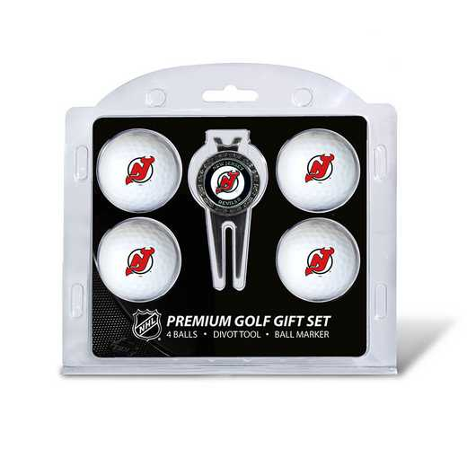 14606: 4 Golf Ball And Divot Tool Set New Jersey Devils