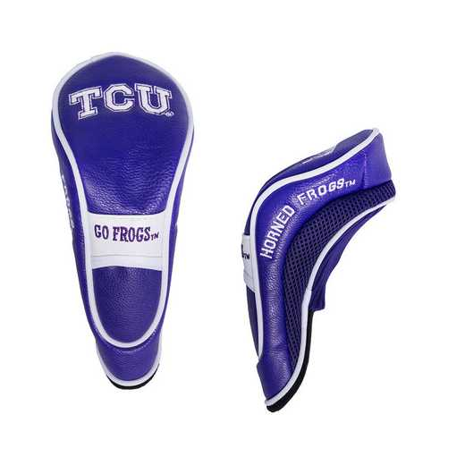 25366: Hybrid Head Cover TCU Horned Frogs