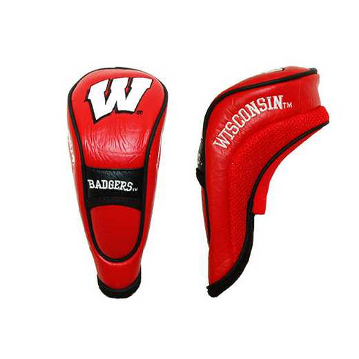 23966: Hybrid Head Cover Wisconsin Badgers