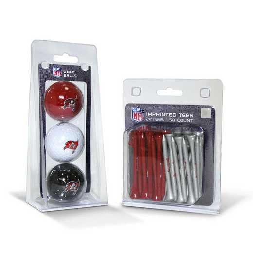 32999: 3 Golf Balls And 50 Golf Tees Tampa Bay Buccaneers