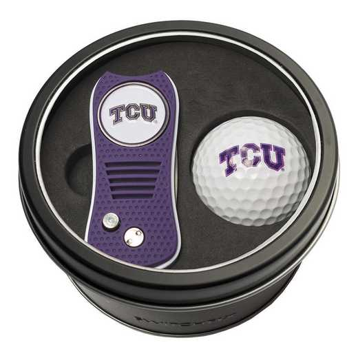 25356: Tin Gft St w/ Switchfix DVT Glf Ball TCU Horned Frogs