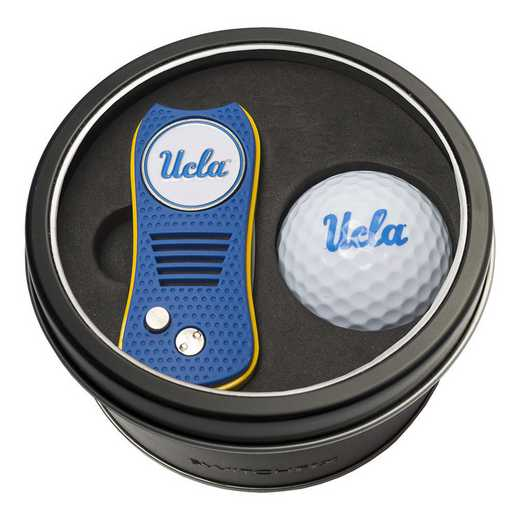 23556: Tin Gft St w/ Switchfix DVT Glf Ball UCLA Bruins
