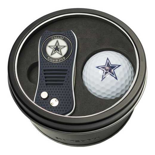 32356: Tin Gft St w/ Switchfix DVT Glf Ball Dallas Cowboys