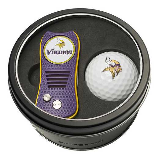 31656: Tin Gft St w/ Switchfix DVT Glf Ball Minnesota Vikings