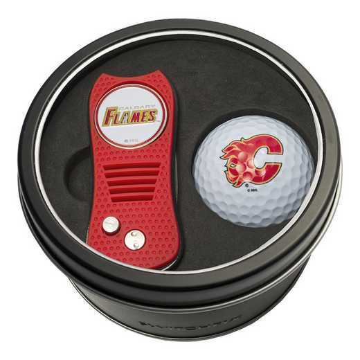 13356: Tin Gft St w/ Switchfix DVT Glf Ball Calgary Flames