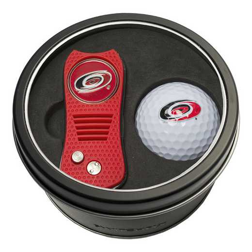 13456: Tin Gft St w/ Switchfix DVT Glf Ball Carolina Hurricanes