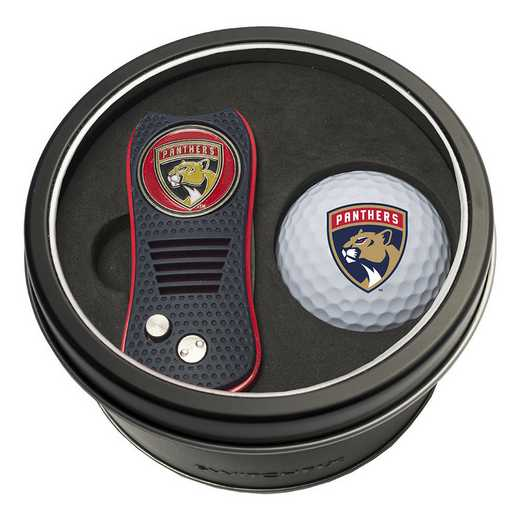 14156: Tin Gft St w/ Switchfix DVT Glf Ball Florida Panthers