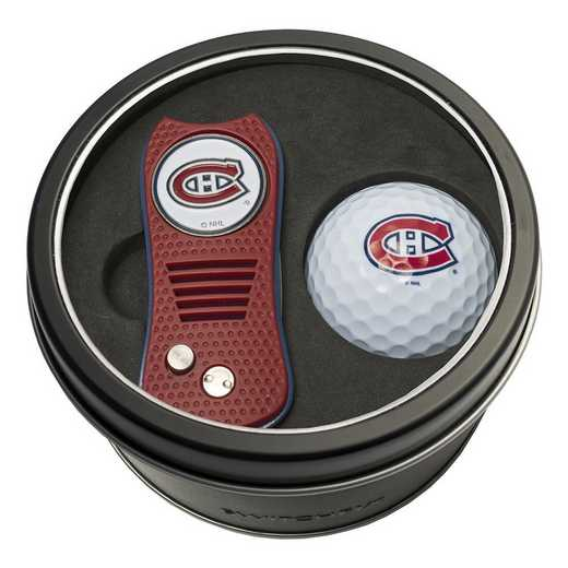 14456: Tin Gft St w/ Switchfix DVT Glf Ball Montreal Canadiens