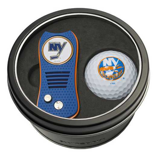 14756: Tin Gft St w/ Switchfix DVT Glf Ball New York Islanders