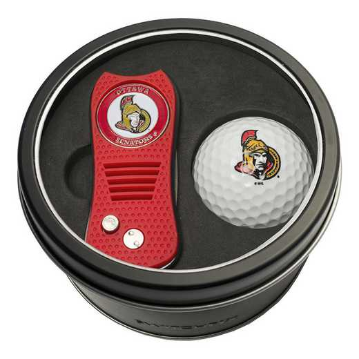 14956: Tin Gft St w/ Switchfix DVT Glf Ball Ottawa Senators