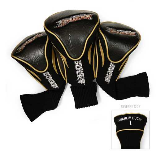 13094: 3 PKContour Head Covers Anaheim Ducks