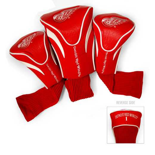 13994: 3 PKContour Head Covers Detroit Red Wings