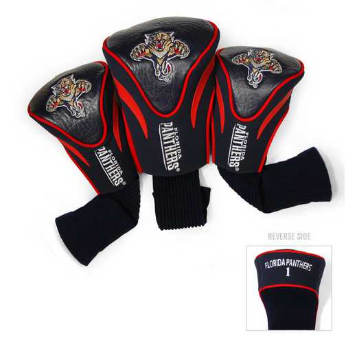 14194: 3 PKContour Head Covers Florida Panthers