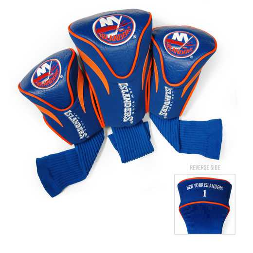 14794: 3 PKContour Head Covers New York Islanders