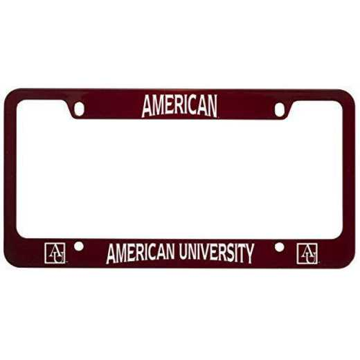 SM-31-RED-AMERICN-1-SMA: LXG SM/31 CAR FRAME RED, American University