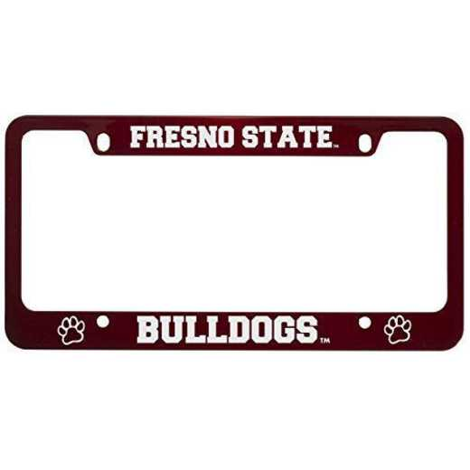 SM-31-RED-FRSNOST-1-CLC: LXG SM/31 CAR FRAME RED, Fresno State