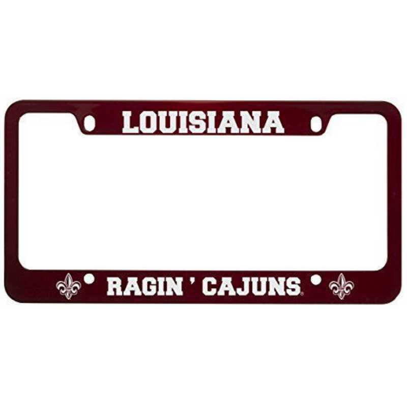 SM-31-RED-LALFYTE-1-CLC: LXG SM/31 CAR FRAME RED, Louisiana Lafayette