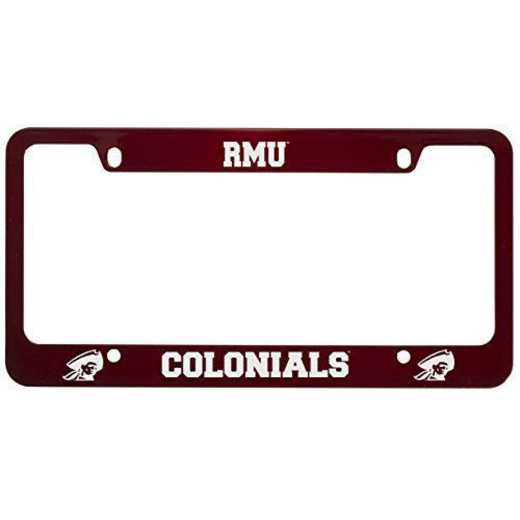 SM-31-RED-RBRTMORIS-1-LRG: LXG SM/31 CAR FRAME RED, Robert Morris Univ