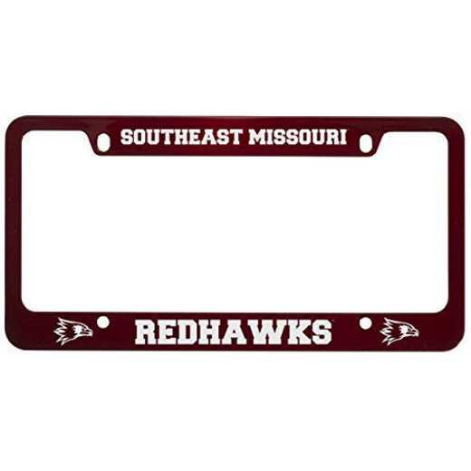 SM-31-RED-SEASTMO-1-LRG: LXG SM/31 CAR FRAME RED, Southeast Missouri Univ