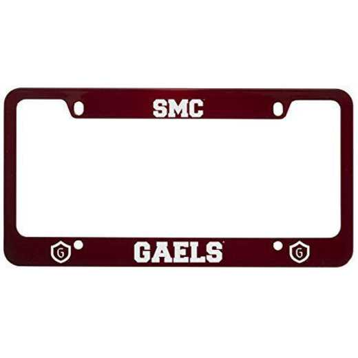 SM-31-RED-STMARYS-1-SMA: LXG SM/31 CAR FRAME RED, Saint Mary's College of California