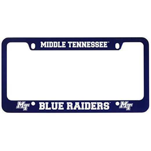SM-31-BLU-MTSU-1-CLC: LXG SM/31 CAR FRAME BLUE, Middle Tennessee St