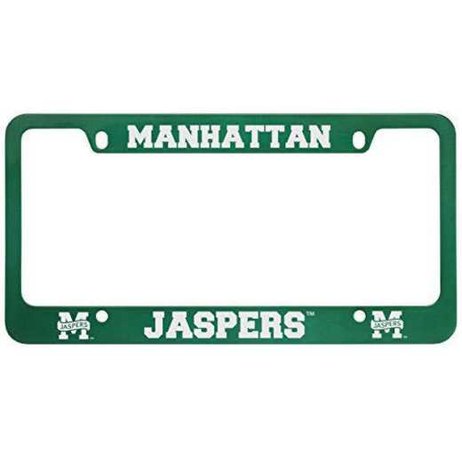 SM-31-GRN-MANHATTAN-2-SMA: LXG SM/31 CAR FRAME GREEN, Manhattan College