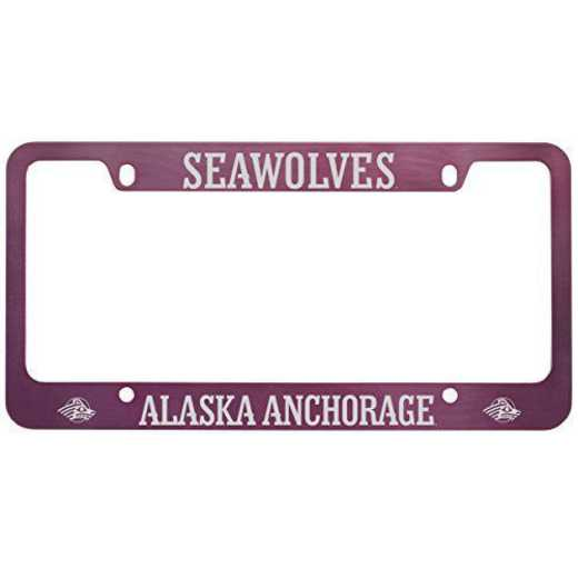 SM-31-PNK-AKANCH-1-CLC: LXG SM/31 CAR FRAME PINK, Alaska Anchorage