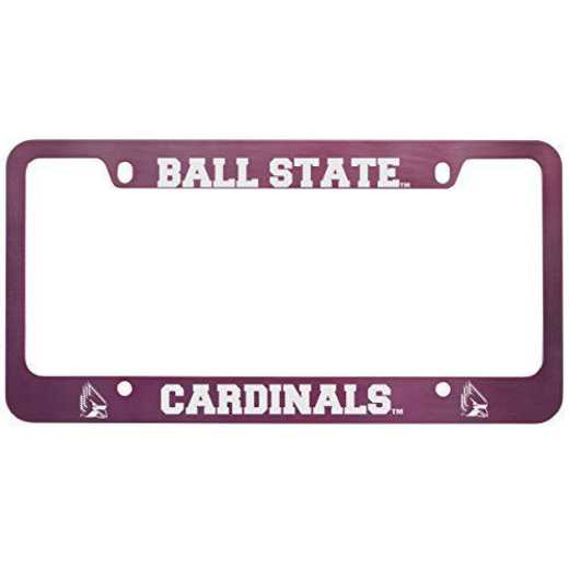 SM-31-PNK-BALLST-1-LEARFIELD: LXG SM/31 CAR FRAME PINK, Ball State