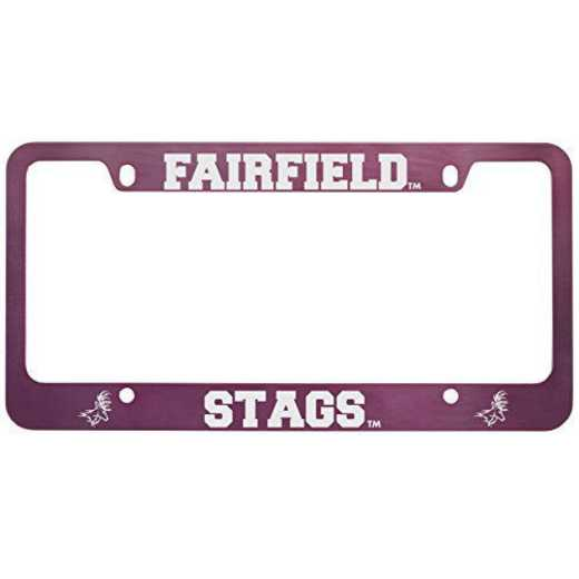 SM-31-PNK-FAIRFLD-1-SMA: LXG SM/31 CAR FRAME PINK, Fairfield University