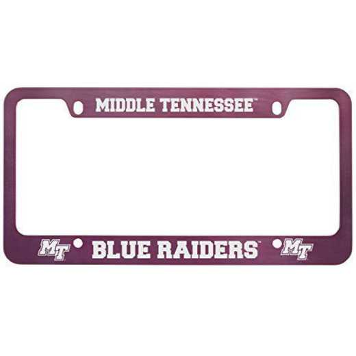 SM-31-PNK-MTSU-1-CLC: LXG SM/31 CAR FRAME PINK, Middle Tennessee St