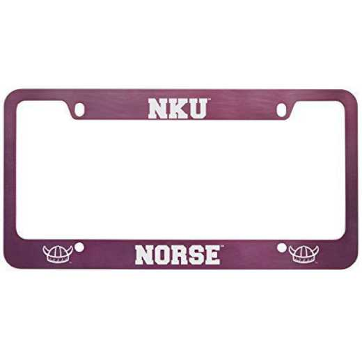 SM-31-PNK-NTHKENT-1-SMA: LXG SM/31 CAR FRAME PINK, Northern Kentucky University