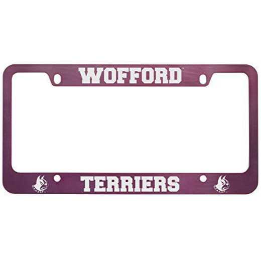 SM-31-PNK-WOFFORD-1-LRG: LXG SM/31 CAR FRAME PINK, Wofford College