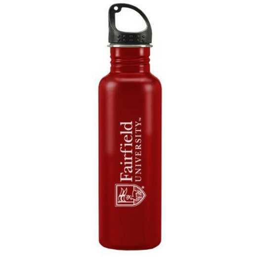 100-RED-FAIRFLD-L3-SMA: LXG 100 TUMB RED, Fairfield University