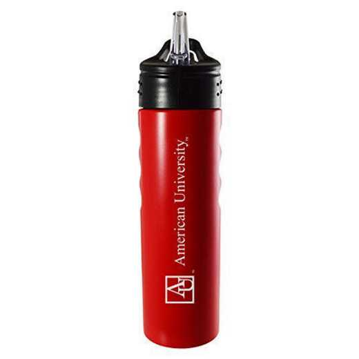 BOT-400-RED-AMERICN-LRG: LXG 400 BOTTLE RED, American University