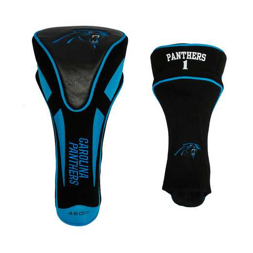 30468: Single Apex Driver Head Cover Carolina Panthers