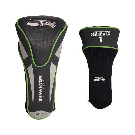 32868: Single Apex Driver Head Cover Seattle Seahawks