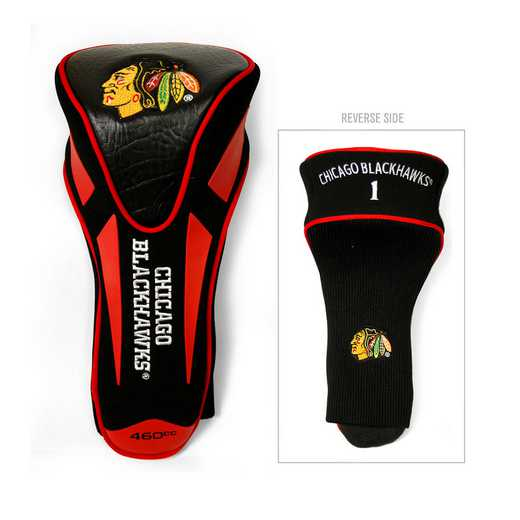 13568: Single Apex Driver Head Cover Chicago Blackhawks